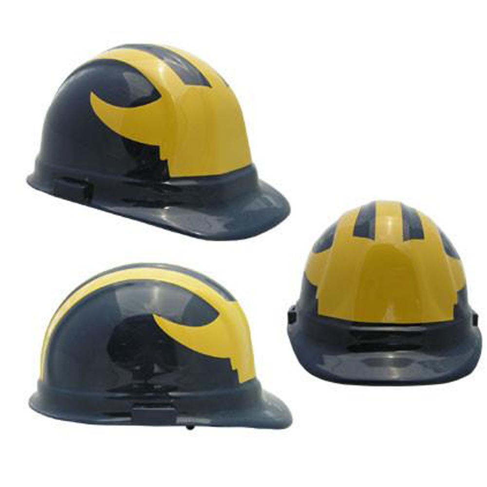 Michigan Wolverines - NCAA Team Logo Hard Hat Helmet