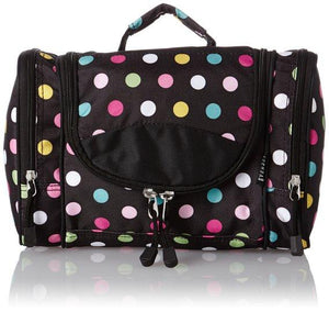 Everest Deluxe Toiletry Bag - Polkadot