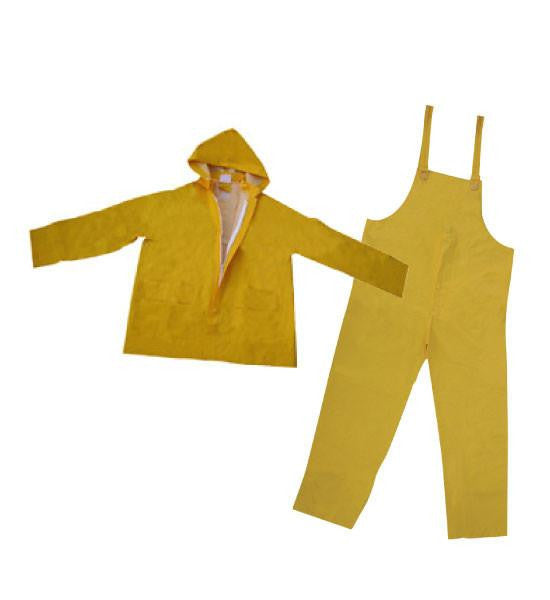 3A Safety 3AS R3500-XXXXL 35 Mil. PVC/Polyester 3 Piece Rainsuit, 4XL