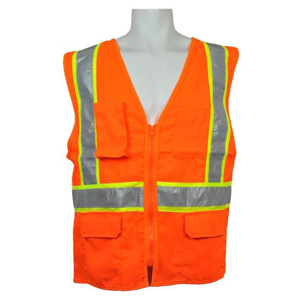 3A Safety - ANSI Certified Multi-pocket Safety Vest