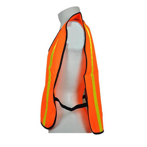"3A Safety All-Purpose Tight Mesh Safety Vest 1"" Vertical Stripe"