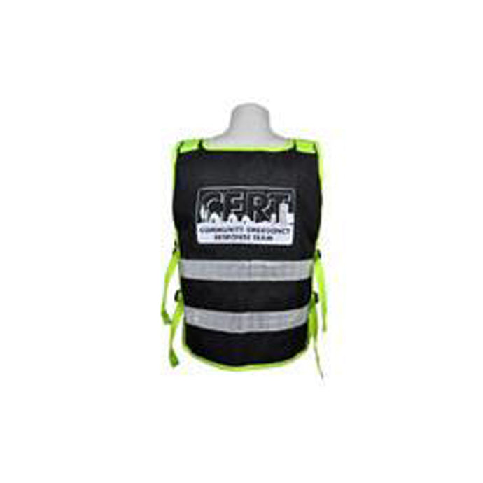 3A Safety - Utility Surveyor Safety Vest - National CERT logo