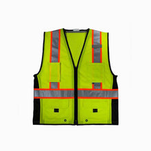 Load image into Gallery viewer, 3A Safety Ice Cool Mesh Safety Vest with Black Sides