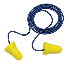 3M E-A-R Bell Foam Polyurethane Corded Earplugs (200 Pair Corded Earplugs - Pack)