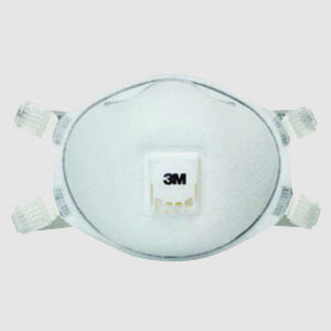 3M N95 Disposable Particulate Respirator With Cool Flow Exhalation Valve (10 Disposable Particulate Respirators - Pack)