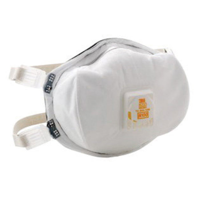 3M N100 8233 Disposable Particulate Respirator With Cool Flow Exhalation Valve (CASE)
