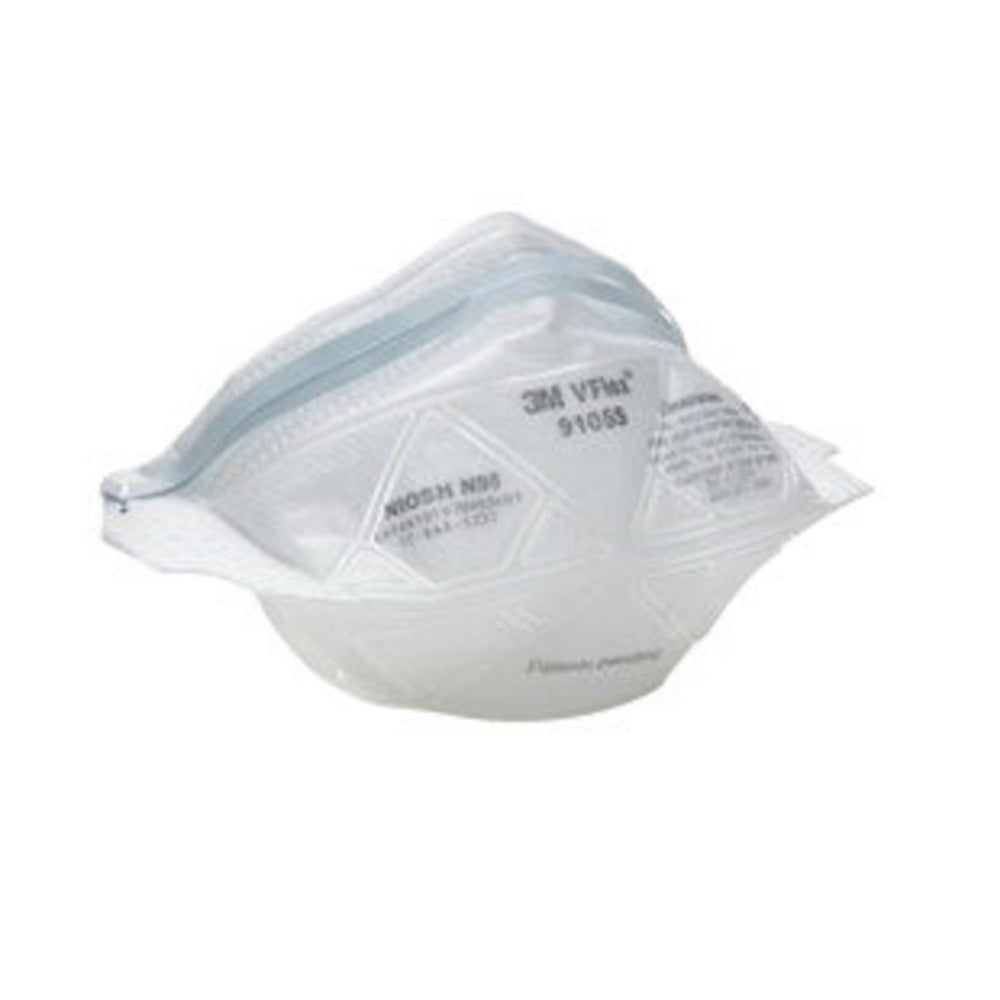 3M Small N95 Disposable Particulate Respirator With VFlex Exhalation Valve