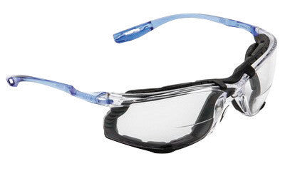 3M Virtua CCS Diopter Safety Glasses With Clear Frame