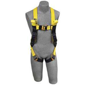 3M DBI-SALA 2X Delta II Arc Flash Construction Style Harness With Quick Connect Buckle Leg Strap, Back Web Loop, Rescue Loops And Leather Insulators