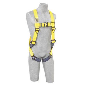 3M DBI-SALA 2X Delta No-Tangle Full Body Vest Style Harness With Back D-Ring And Tech-Lite Quick Connect Leg Strap Buckle
