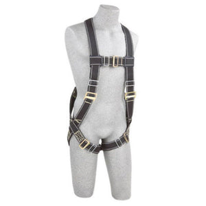 3M DBI-SALA 2X Delta No-Tangle Full Body/Vest Style Harness With Back D-Ring, Pass-Thru Leg Strap Buckle And Loops For Body Belt