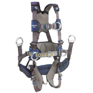 3M DBI-SALA 2X ExoFit NEX Full Body/Vest Style Harness With Front D-Ring, Tongue Leg Strap Buckle