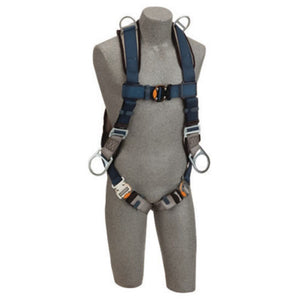 3M DBI-SALA Exofit Positioning/Retrieval Full Body/Vest StyleHarness With Back, Side And Shoulder D-Rings, Quick Connect Buckles And Loops For Belt