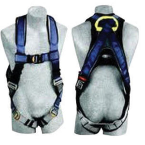 3M DBI-SALA Large Delta Construction Cross Over Style Harness With (2) D-Rings