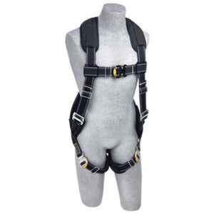 3M DBI-SALA Large ExoFit XP Arc Flash Flame Resistant Full Body/Vest Style Harness With Back D-Ring, Comfort Padding, Leather Insulator And Quick Connect Chest And Leg Strap Buckle