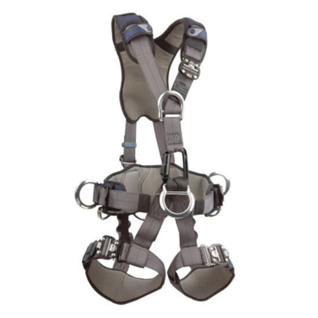 3M DBI-SALA Medium ExoFit NEX Full Body Style Harness With Back, Front, Suspension And Side D-Ring, Duo-Lok Quick Connect Chest And Leg Strap Buckle, Hybrid Comfort Padding And Equipment Loops