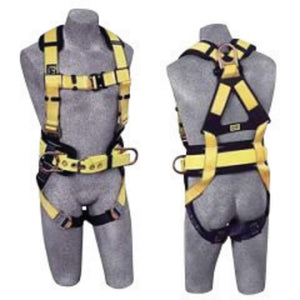 3M DBI-SALA Small Delta No-Tangle Full Body Vest Style Harness With Back And Side D-Ring, Belt With Pad, Shoulder Pads And Quick Connect Chest And Leg Strap Buckle