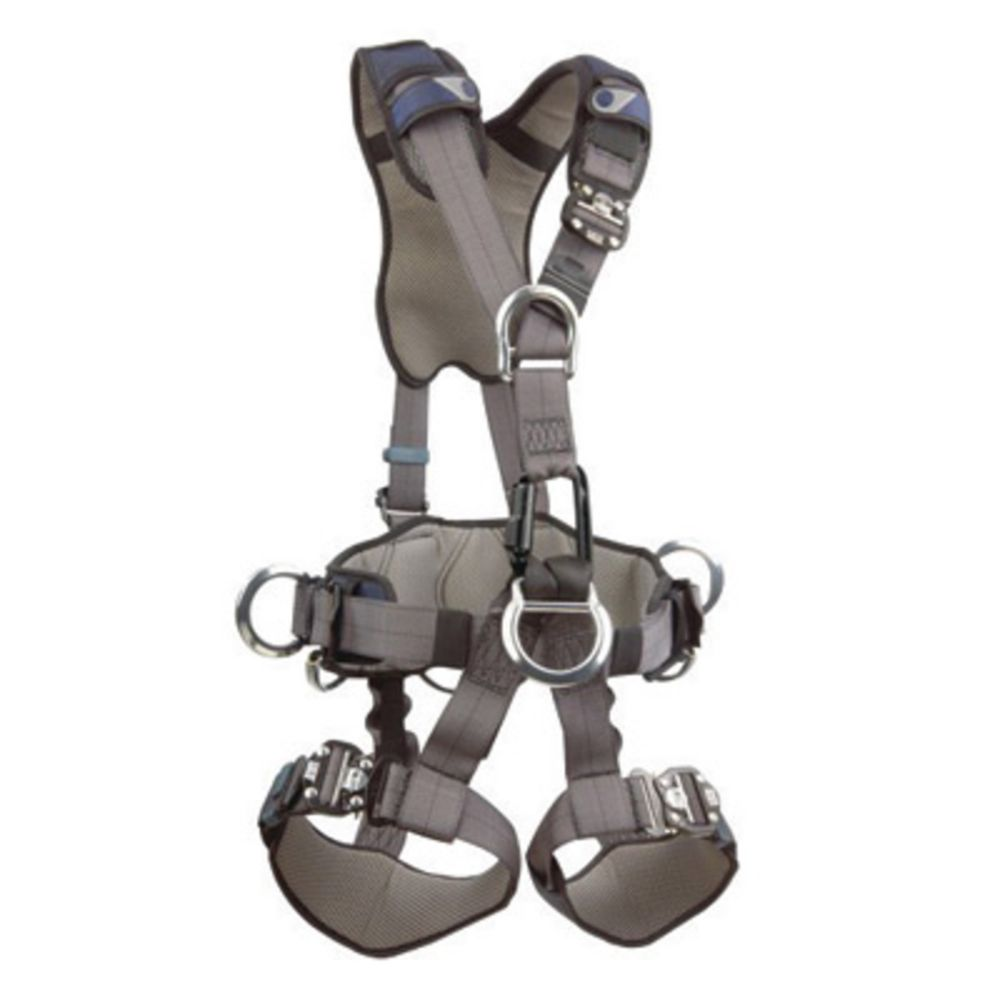 3M DBI-SALA Small ExoFit NEX Full Body Style Harness With Back, Front, Suspension And Side D-Ring, Belt With Pad, Duo-Lok Quick Connect Chest And Leg Strap Buckle, Hybrid Comfort Padding And Equipment Loops