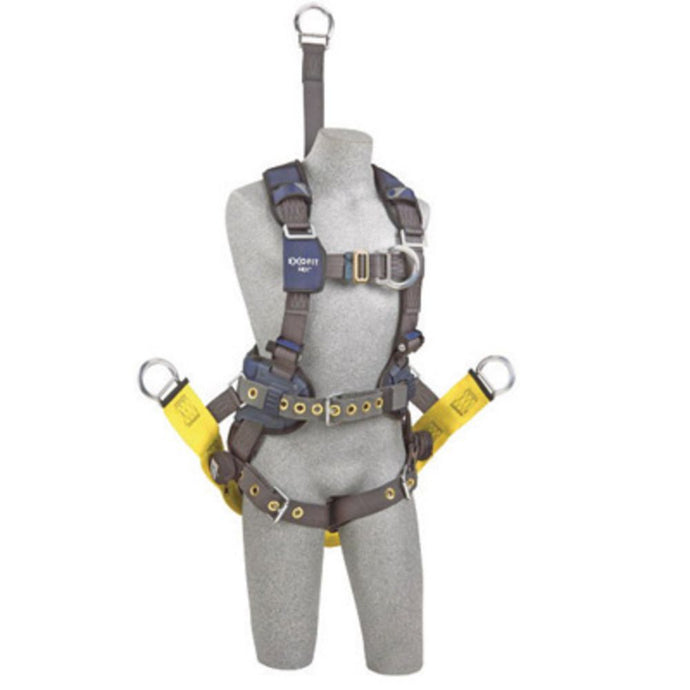 3M DBI-SALA Small ExoFit NEX Oil And Gas Positioning/Climbing Harness With Back D-Ring, 18