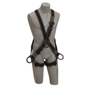 3M DBI-SALA Universal Delta Arc Flash No-Tangle Cross Over Full Body Style Harness With PVC Coated Back, Front And Side D-Ring And Pass-Thru Leg Strap Buckle