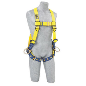 3M DBI-SALA Universal Delta No-Tangle Full Body/Vest Style Harness With Back And Side D-Ring And Tongue Leg Strap Buckle