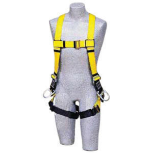 3M DBI-SALA Universal Delta No-Tangle Full Body/Vest Style Harness With Back And Side D-Ring, Quick Connect Chest And Pass-Thru Leg Strap Buckle And Comfort Padding