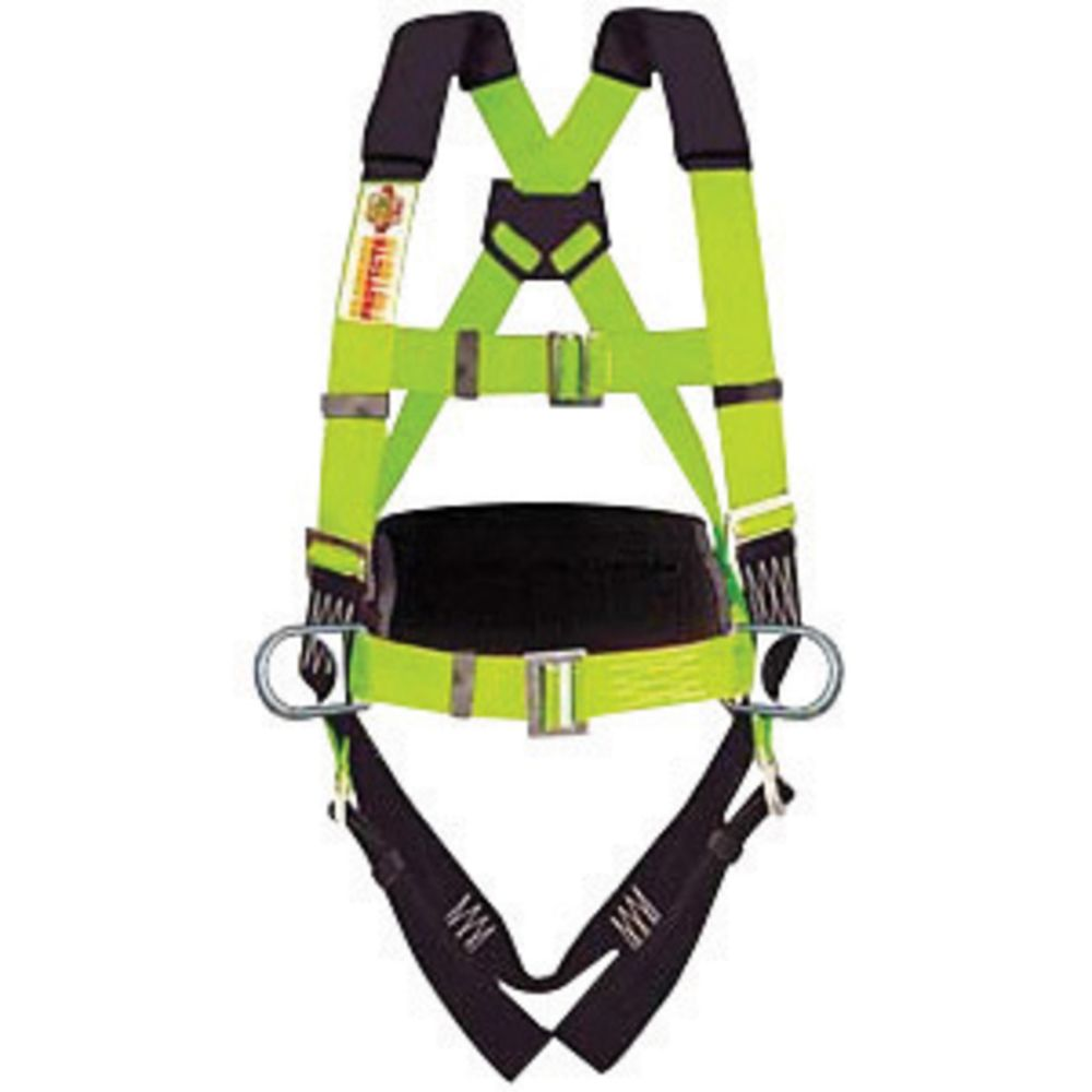3M DBI-SALA Universal Delta No-Tangle Full Body Vest Style Harness With Stainless Steel Back D-Ring, Quick Connect Chest And Pass-Thru Leg Strap Buckle And Comfort Padding