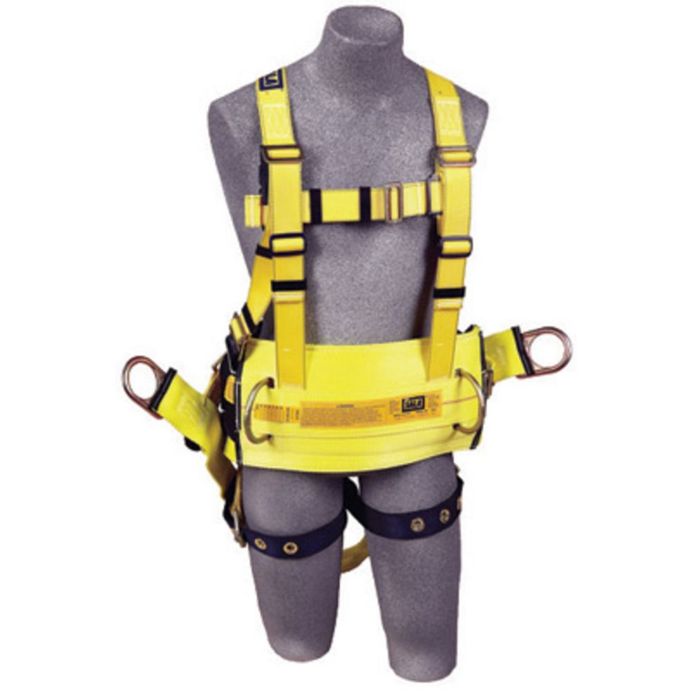 3M DBI-SALA X-Large Delta II Derrick Style Harness With Back D-Ring With 18