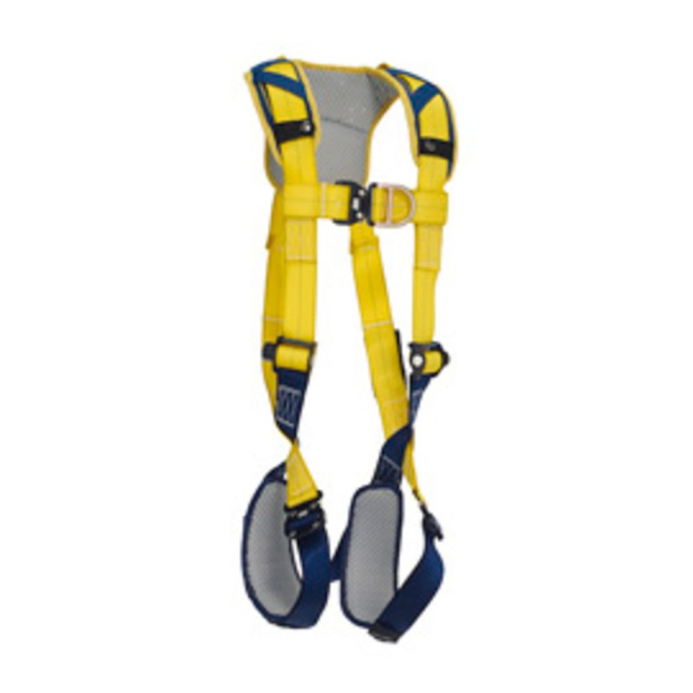 3M DBI-SALA X-Large Delta Vest Style Climbing Harness With Back And Front D-Rings, Quick Connect Buckle Leg And Chest Straps And Comfort Padding