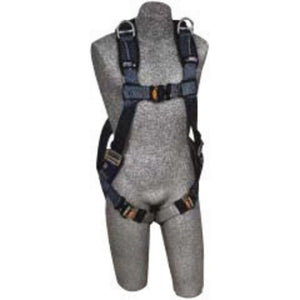 3M DBI-SALA X-Large ExoFit XP Full Body/Vest Style Harness With Back And Shoulder D-Ring, Quick Connect Leg Strap Buckle, Loops For Belt And Removable Padding