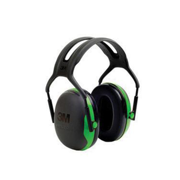 3M Peltor Black And Green Over-The-Head Earmuffs