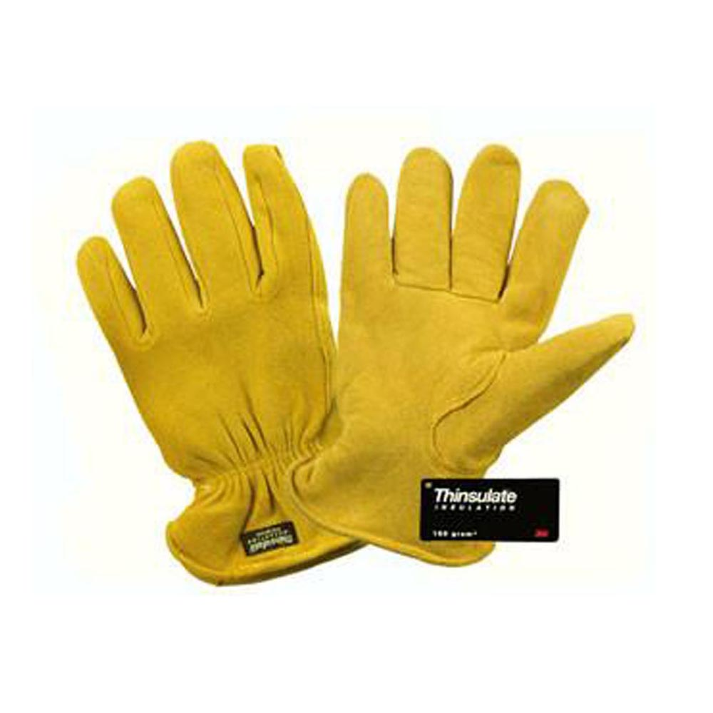 Deerskin Thinsulate Lined - Winter Work Gloves