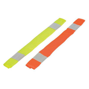 ML Kishigo - Seat Belt Reflective Covers Color Orange - 2 Pack