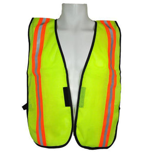 "3A Safety All-Purpose Mesh Safety Vest 2"" Vertical Stripe"