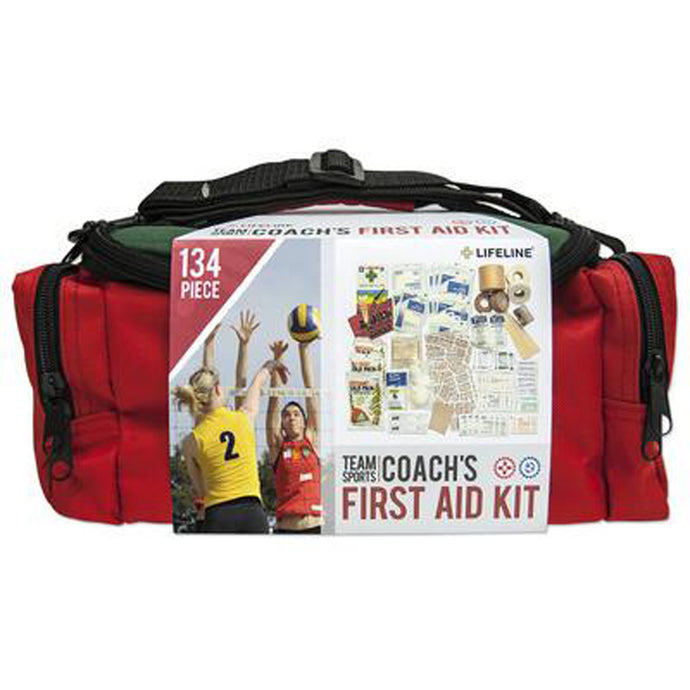 Lifeline Team Sports Coach First Aid Kit - 134 Piece