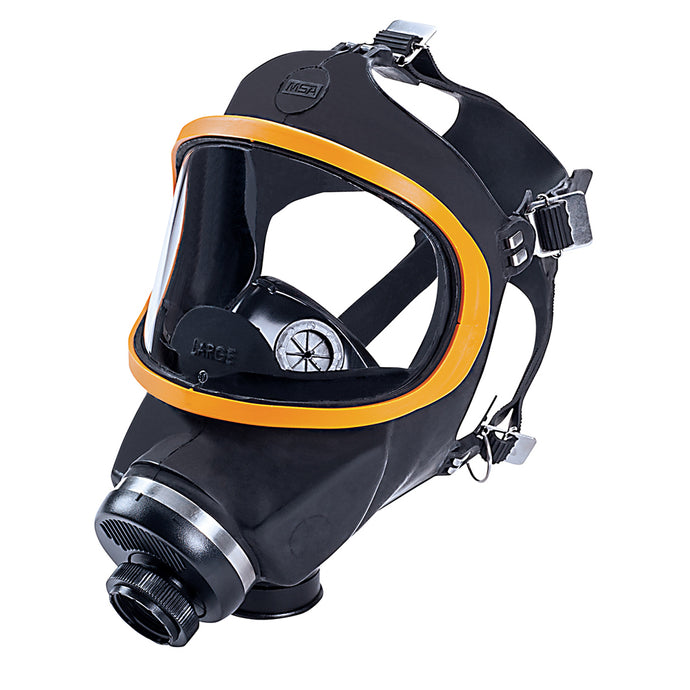MSA Large Comfo Classic Series Full Mask Air Purifying Respirator (10 Air Purifying Respirators - Pack)