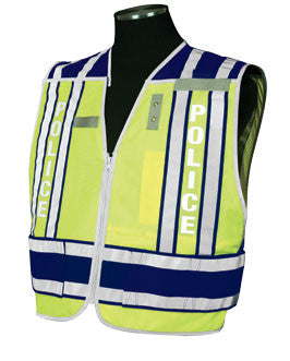 400 PSV Pro Series Public Safety Vest Type Police - Navy Blue Size: 2X-large - 4X-large, Lettering Yes