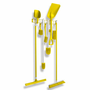 Rack'Em Racks-Different Color PVC Coated 26″ 12-Hook Rack