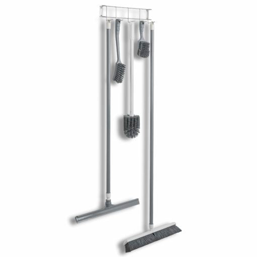 Rack'Em Racks-Stainless Steel 17″ 5-Hook Rack