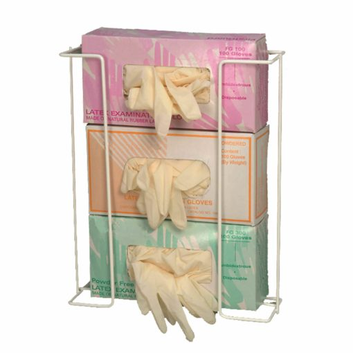 "Rack'Em Racks- ""Space Saver"" 3 Box Exam Glove Dispenser"