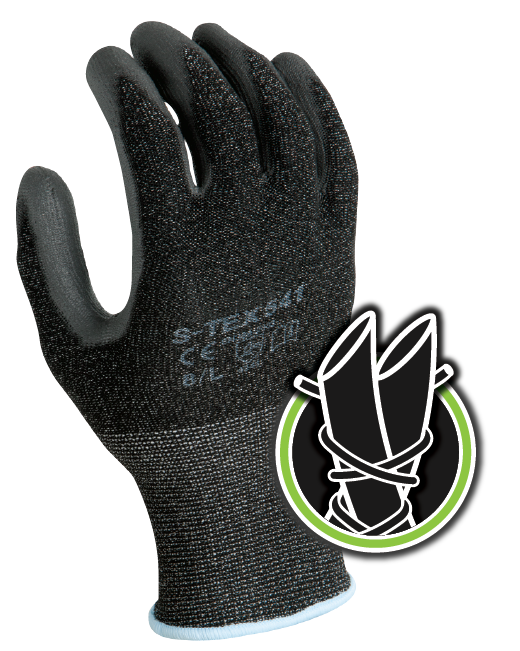 Showa Best - S-TEX 541 Cut Resistant Hagane Coil Fibre Work Gloves - ANSI Cut Level 4