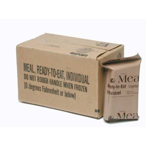 Genuine U.S. Military Surplus Ready to Eat Meals (12 Packs)