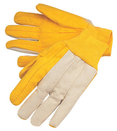 dGolden Chore with Canvas Back - Knit Wrist - Dozen