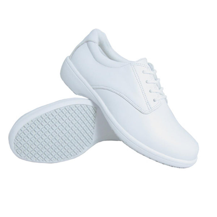 Genuine Grip Footwear- 425 Tie White Women's Shoe