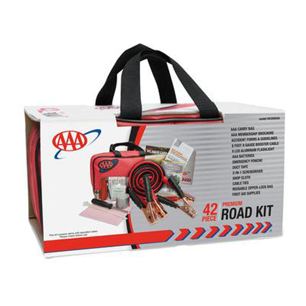 LIFELINE- AAA 42 Piece Emergency Road Assistance Kit