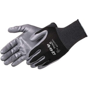 Liberty-Q-GRIP® ULTRA-THIN NITRILE PALM COATED (BLACK NYLON SHELL)
