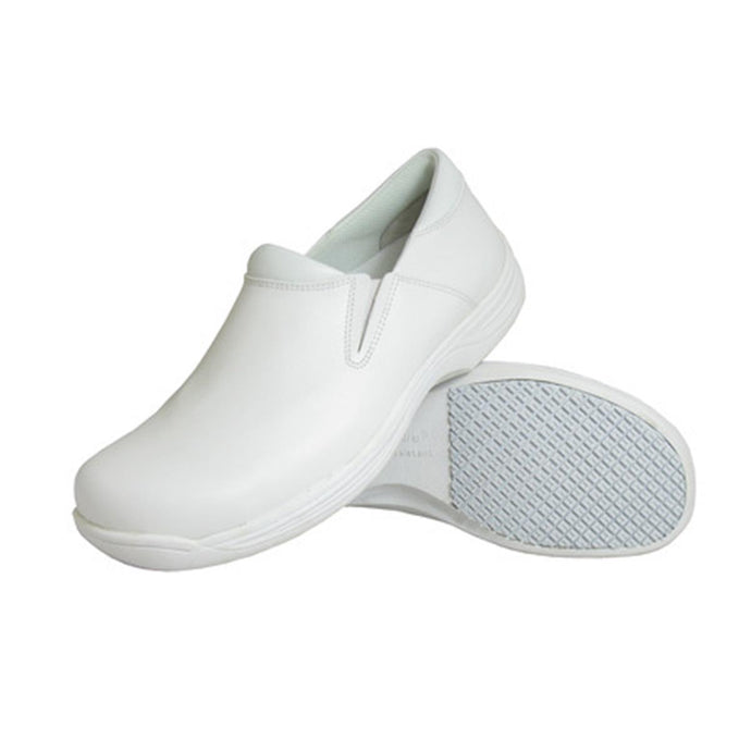 Genuine Grip Footwear- 4705 Men's Slip On White