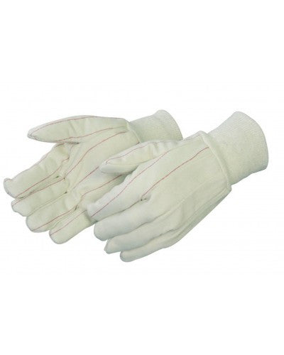 Cotton/polyester corduroy double palm canvas Gloves - Dozen