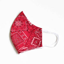 Load image into Gallery viewer, LMC Face Mask with Filter - Bandana - RED