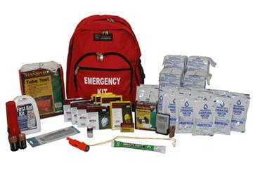 Survival Kit USA Deluxe Emergency Disaster Preparedness - 4-Person/72 Hours